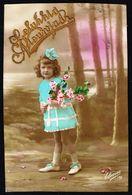 ENFANT - Fillette Avec Fleurs Et Ruban Dans Les Cheveux - Circulé - Circulated - Gelaufen - 1920. - Enfants