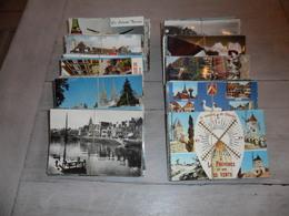 Grand Lot De 500 Cartes Postales Semi - Modernes Grand Format De France     Groot Lot Van 500 Postkaarten Van Frankrijk - Postcards
