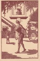 18 / 3 / 42 --EN  AFRIQUE - LA TOILETTE  EST  BIEN  PORTÉE (CH BOIREAU ) - Autres Illustrateurs