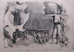 Le Grand Concours De L'association Des Sociétes De Gymnastique De La Seine - Page Original - 1883 - 2 - Documenti Storici
