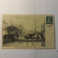 89 - CEZY - La Place Lors De L'inondation De 1910 - France