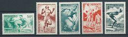 MONACO 1948 . Série N°s 319 à 323 . Neufs ** (MNH) - Monaco