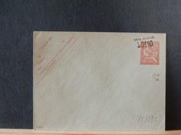 75/398  ENVELOPPE AVEC SURCHARGE  XX - 1900-02 Mouchon