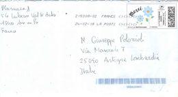 Francia 2018 Busta Viaggiata Francia Italia Con Bolli Priority  See Scans - 1961-....