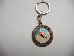 Porte Clés , Ski , Slalom - Key-rings