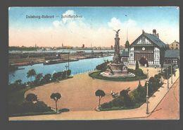 Duisburg - Ruhrort - Schifferbörse - Belgian Army Post - 1923 - Duisburg