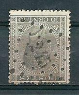 17 Gestempeld PT 245 MESSANCY - COBA 12,00 - 1865-1866 Profilo Sinistro