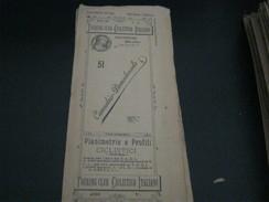 CARTINA TOURING CLUB CICLISTICO ITALIANO -N.51 CANNOBBIO DOMODOSSOLA -OTTOBRE 1899 - Dépliants Touristiques