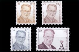 Belgium 2980/83**  Albert II   Faciale 6.92€  MNH - Neufs