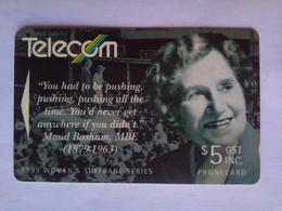 151BO Maud Bsham - New Zealand