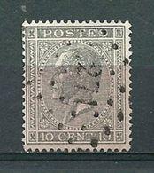 17 Gestempeld PT 271 NINOVE - COBA 4,00 - 1865-1866 Profil Gauche