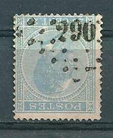18 Gestempeld PT 290 PATURAGES - COBA 5,00 - 1865-1866 Profilo Sinistro
