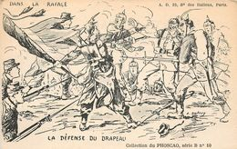 SERIE COMPLETE DE 10 CARTES PHOSCAO MILITAIRE 1914 1918 ILLUSTREES PAR A.DUBRAY SERIE B - Patriotic