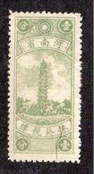 河南省 (Henan Province) 捲於税摽 (Tax Stamp) Mint (no Gum As Issued) (409) - 1912-1949 Repubblica