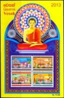 BUDDHISM-VESAK-MS-SRI LANKA-MNH-ABSL-21 - Buddhism