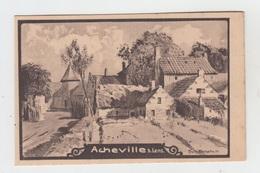 62 - ACHEVILLE Bei LENS / SCHITTENHELM - CARTE ALLEMANDE - FELDPOSTKARTE - France