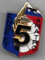 1er Régiment De Chasseurs Parachutistes - 5e Compagnie - Insigne Boussemart - Armée De Terre