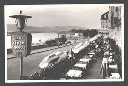 Linz - Stadt Keller Terrasse Ortansicht / Straßenszene - 1950 - Linz