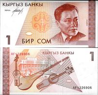 Kyrgyzstan ND (1994) - 1 Som - Pick 7 UNC - Kyrgyzstan