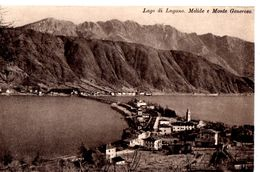 Lago Di Lugano Melide E Monte Generoso - TI Tessin