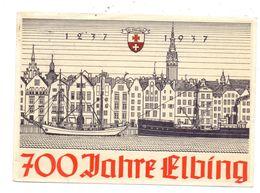 OSTPREUSSEN - ELBING / ELBLAG, 700 Jahre Elbing, Fest-Postkarte, 1937 - Ostpreussen