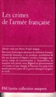 Pierre Vidal Naquet -Les Crimes De L'armée Française - Geschichte
