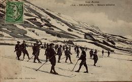 05 BRIANCON  SKIEURS MILITAIRES - Briancon