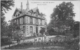SEINE Et MARNE-VILLENEUVE SUR BELLOT Moulin Foulon-MO - France