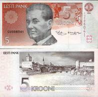 Estonia 1994 - 5 Krooni - Pick 76 UNC - Estonia