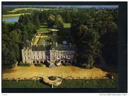 35  BECHEREL  Vue Aerienne Du Chateau De Caradeuc Et Ses Jardins A La Francaise - Bécherel