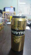 Israel-goldstar Unfiltered-beer-(500mil)-good - Cannettes