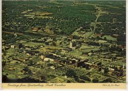 SPARTANBURG SOUTH CAROLINA  AIR VIEW - Spartanburg