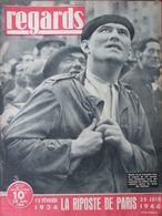 Regards N°47 (20 Juin 1946) Folklore Canadien Français-Grand Mufti- 12 Février 1934 - 1900 - 1949
