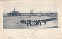 BLANKENBERGE / VERHUUR VAN EZELTJES EN DE PIER 1900 PRECURSEUR - Blankenberge