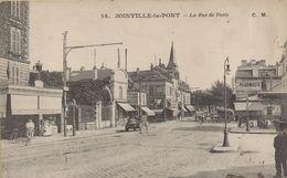 JOINVILLE LE PONT : La Rue De Paris - Joinville Le Pont