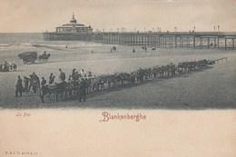 BLANKENBERGE /  EZELSTALLING EN DE PIER - Blankenberge