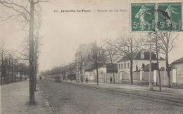JOINVILLE LE PONT : Route De La Brie - Joinville Le Pont