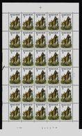 Belgie - Belgique 2213/16 Honden - Chiens - A. Buzin -  In Volledig Vellen - En Feuilles Completes - 1985-.. Oiseaux (Buzin)