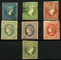 2163-Antillas Españolas Nº 12, 7, 8, 9, 10/11 - Aguera