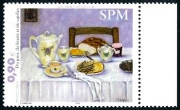 ST-PIERRE ET MIQUELON 2004 - Yv. 821 ** Bdf  Faciale= 0,90 EUR - Tableau De F. Langlois  ..Réf.SPM11333 - Neufs