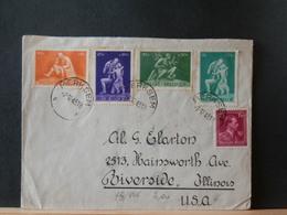 75/446  LETTRE POUR USA  1945 - Belgien