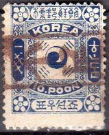 不足 = Postage Due, A Very Rare Cancel Very Fine Quality (82) - Korea (...-1945)