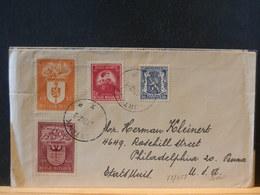 75/458  LETTRE BELGE 1947   POUR USA - Belgien