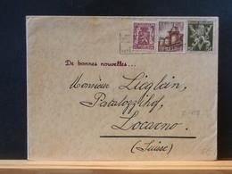 75/459 LETTRE BELGE   POUR LA SUISSE - Lettres & Documents