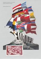 SARRE  EUROPE 1950 - Blocs-feuillets
