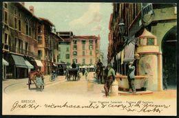 Brescia Corso Guiseppe Zanardelli Fontana Del Gambero - Brescia