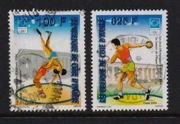 Ivory Coast 2004, Sports, Minr 1316 And 1319, Vfu. Cv Undetermined - Costa D'Avorio (1960-...)