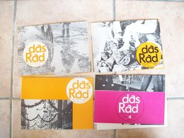 LES 1er NUMEROS DAS RAD MARIE GLASGOW MAGAZINES LONDRES 1970 Edition Scolaire Linguistique Allemand - School Books