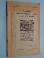 HEEMKUNDIG Handboekje V/d Antwerpse Randgemeenten1964 / 28 Pag. XIIe Jg. Nr. 1 ( Uitg. GITSCHOTEL Buurschap ) - Culture