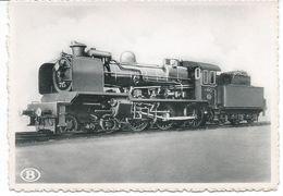 """1921 Locomotive Type 7 """"Ten Wheel"""" - Belgique"""